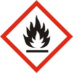 Gefahrenhinweis brandfördernd