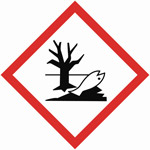 Gefahrenhinweis-Piktogramm-Fisch
