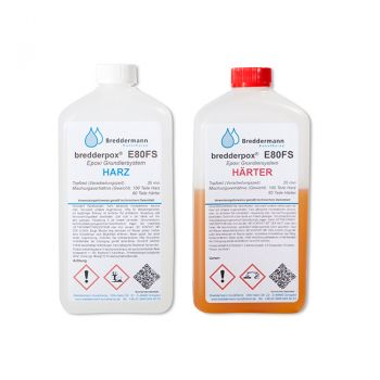 Epoxy Priming Resin - Grounding - Resin - Hardener 35 min (low viscous) | E80FS