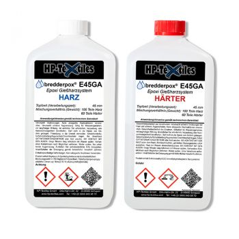 Epoxy Resin - Casting System (medium viscous) | E45GA