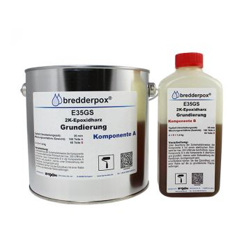 4 kg Epoxy Priming Resin 35 min (low viscous) | E35GS