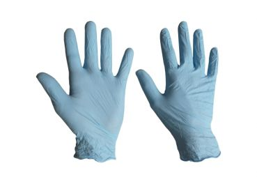 "Nitrile-Gloves ""powdered"""