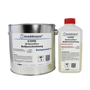 4 kg Coating System RAL7032 - Epoxy Resin | HP-E30RB