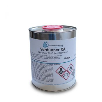 Thinner for PU paints | XA