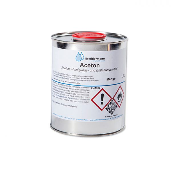 Cleaning and degreasing agent Acetone | AC